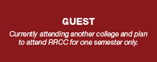 Currently attending another college and plan to attend RRCC for one semester only