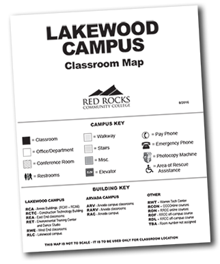 Lakewood Campus Classroom Map