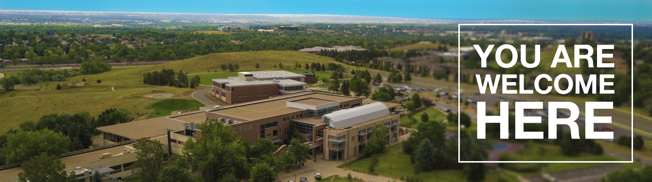 Aeral View of Red Rocks Community College in Lakewood Colorado