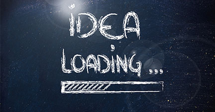 idea loading graphic