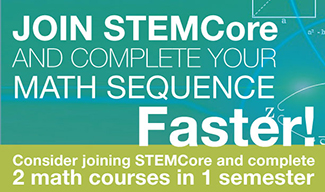 Join STEMCore and complete your math sequence faster!