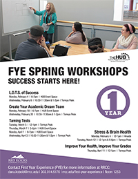FYE Spring Workshops