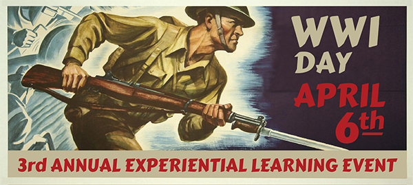 On April 6, 2017 Red Rocks Community College will bring history to life with World War I Day