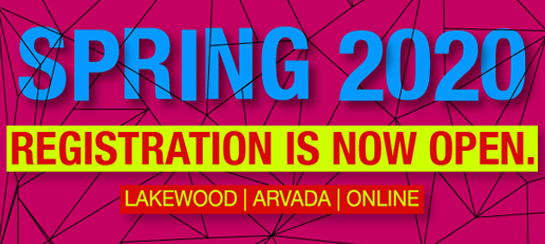 Registration for Spring 2020 is now open! Take a look at the Schedule.