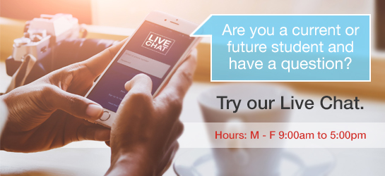 Live Chat  Hours: Monday - Friday 9:00am to 5:00pm
