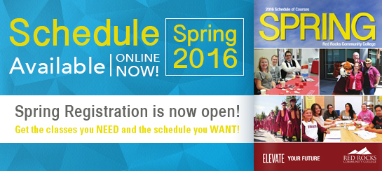 Our Spring 2016 Schedule is now available, and registration is now open!