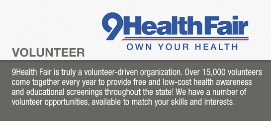 9Health Fair Volunteer