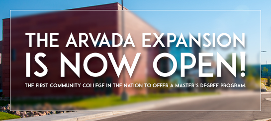 The newly rebuilt facility became the first community college in the nation to offer a master's degree program, starting, Spring 2017.