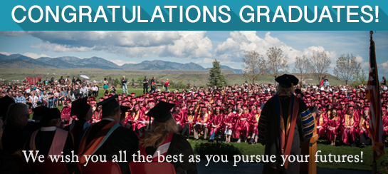 Congratulations Graduates! We wish you all the best as you pursue your futures!