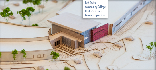 Health Sciences Campus Expansion Building model