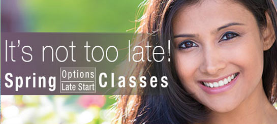 Late Start/Options Classes- Register Now!