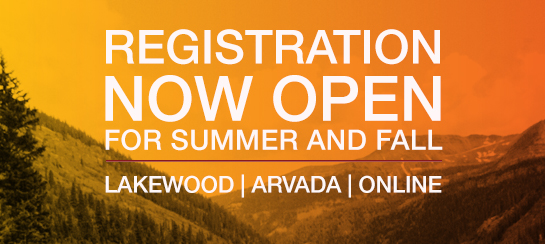 Fall and Summer registration is now open!
