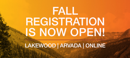 registration for fall is now open