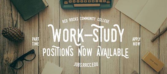 Work-Study Positions now available!