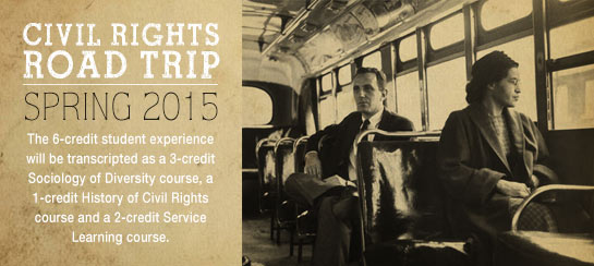 Civil Rights Road Trip Spring 2015