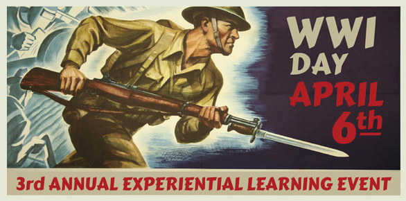 Join Red Rocks Community College on APRIL 6 for WWI DAY!!! Thu, April 6, 2017 9:00 AM – 3:00 PM MDT