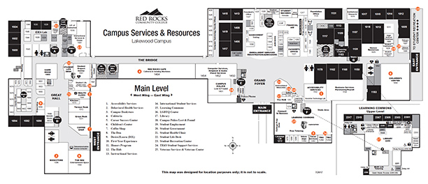 Campus Resources and Services Maps