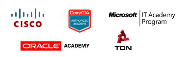Partners: Cisco | Oracle Academy | CompTIA | Microsoft IT Academy | TDN