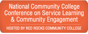 National Community College Conference on Service Learning & Community Engagement - Hosted by Red Rocks Community College