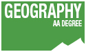 geography AA degree