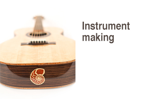 Instrument-making for stringed instruments & drums