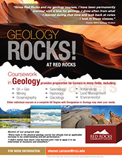 Geology Coursework Flyer (PDF)