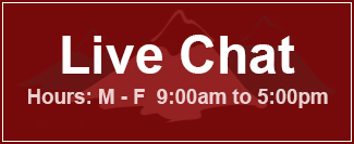 Live Chat - Hours: Monday through Friday, 9 am to 5 pm