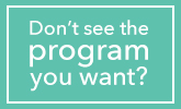 Don't see the program you want? button