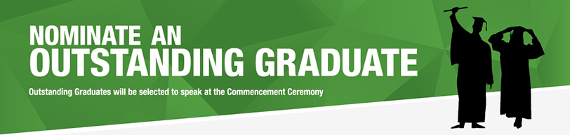 Nominate An Outstanding Grad