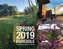schedule and catalog red rocks community college