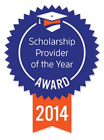 Scholarship Provider of the Year Award 2014