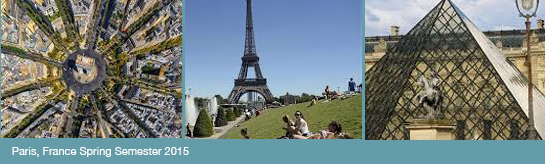 Study Abroad in Paris 2015