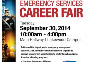 EMS Career Fair