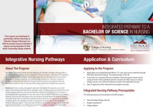 Integrated Nursing Pathways (INP) Information Session Oct. 20 6:00pm-8:00pm HSC Room 7102
