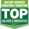 Military Advanced Education and Transition TOP Colleges and Unverisities - 2017