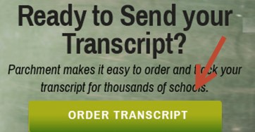 Order your Transcript through Parchment