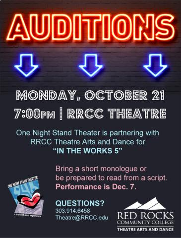 Auditions | Red Rocks Community College