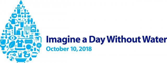 Imagina a day without water event October 10, 2018