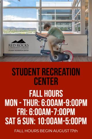 Fall 2018 Operating Hours
