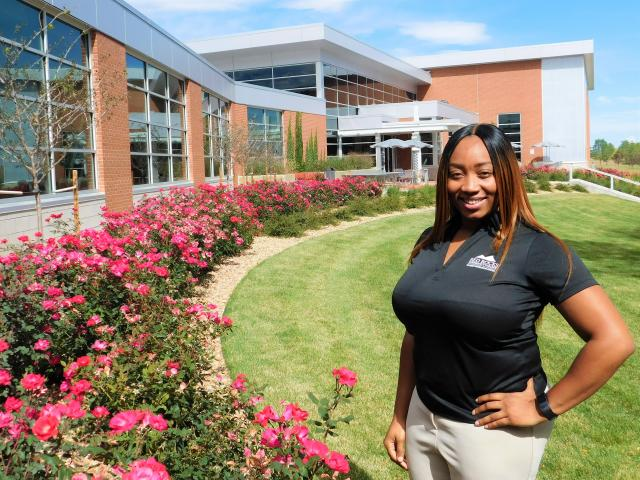 Bre'una Keeton, Fitness Coordinator, Student Recreation Center