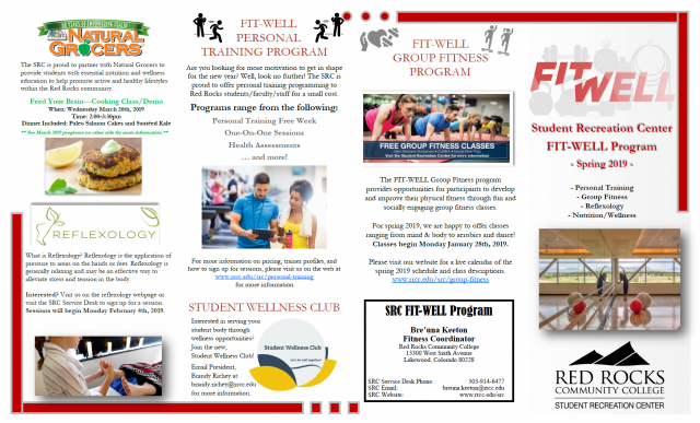 Spring 2019 FIT-WELL Program Guide