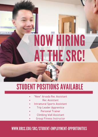 Now Hiring at the SRC!