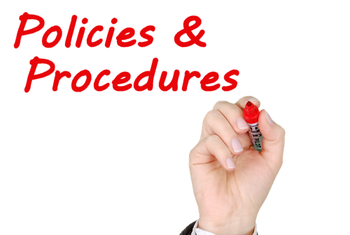 policies procedures Policies & procedures use this page as a one-stop source for the division of it administrative policies and procedures it is the responsibility of the mu community.