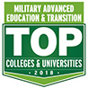 Military Advanced Education and Transition TOP Colleges and Unverisities - 2018