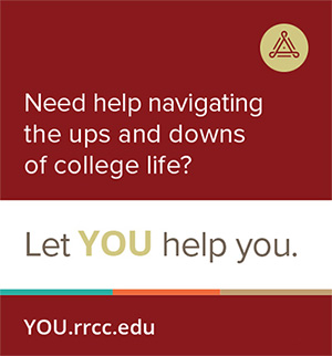 Need help navigating the ups and downs of college life? Let YOU help you.
